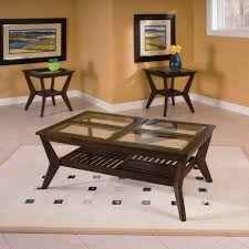 Livingroom Table Sets Standard Furniture Norway Coffee Table With 2 End Tables Walmart Com