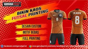 desain kaos futsal di photoshop membuat kaos futsal dengan menentukan konsep desain garuda print