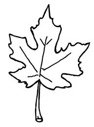 autumn leaves coloring pages free images at clker com vector