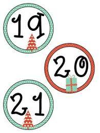 editable christmas calendar cards by nicki thigpen tpt