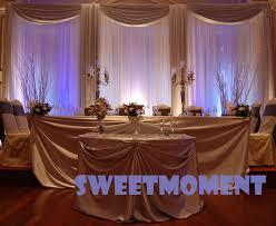 wedding backdrop frame aliexpress buy a set wedding drape pipe for wedding
