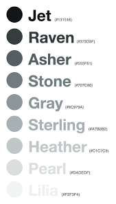 list of color giving colors more colorful names viget