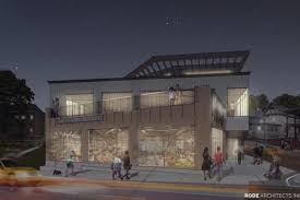 three story building dorchester plan would replace eyesore with three story building