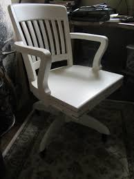 Desk Chair White by At Rivercrest Cottage Pottery Barn Desk Chair Knock Off