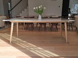 buy a hand made stella modern dining table base for a marble