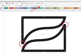 membuat gambar transparan di corel draw x7 tips coreldraw x7 cara membuat sudut outline yang tumpul menjadi