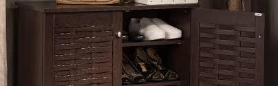 amazon shoe storage cabinet amazon com wholesale interiors baxton studio winda modern and
