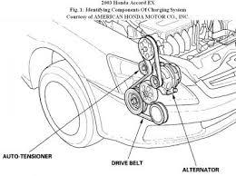 2003 honda accord honda accord serpentine belt engine cooling