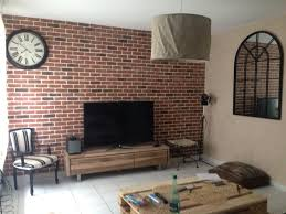 briques cuisine mur brique loft avec cuisine cuisine siporex et portes
