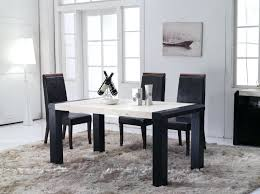 modern marble dining table set contemporary style marble top