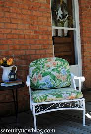 Vintage Patio Furniture - serenity now how to clean and paint vintage metal patio furniture