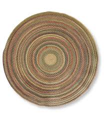 Braided Rugs Round by Bean U0027s Braided Wool Rug Round Rugs And Rug Pads At L L Bean
