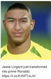 Jesse Meme - jesse lingard just transformed into prime ronaldo