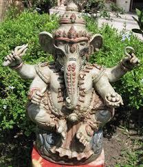 spiritual statues celadon ganesh statue from sukothai