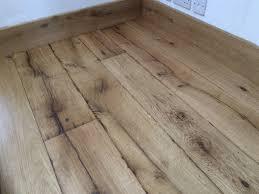reclaimed oak floorboard for harbour side cottage wood
