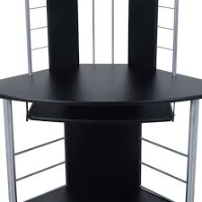 Pc Desk Ideas Computer Table Furniture Computer Desk With Glass Top And