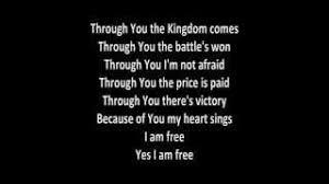 The Blind Will See The Deaf Will Hear Lyrics Newsboys I Am Free Lyrics Youtube