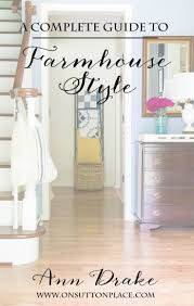 subscribe to farmhouse style decorating and french country