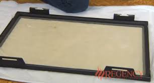 Cleaning Glass On Fireplace Doors by Fireplace Care Video Library Customer Care Regency Fireplace