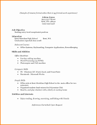 standard format resume format of standard resume beautiful standard resume format resume