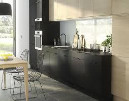 cuisine en noir meuble cuisine noir de castorama 0 laque dans bulan website 13