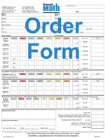 Photography Order Form Template Excel Order Form Excel Math K 6 Curriculum