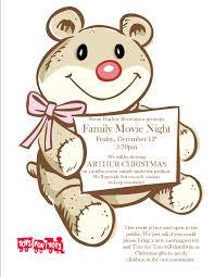 dec 12th stone harbor recreation presents family movie night
