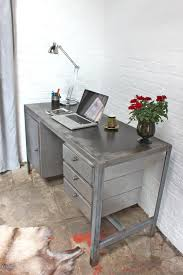 Reclaimed Office Furniture by Stylish Desks With Industrial Designs And Elegant Details
