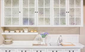 glass kitchen cabinet doors diy decorative diy inspiration add style and privacy to