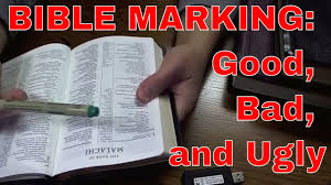bible marking good bad and ugly youtube