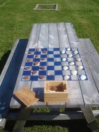 best 25 outdoor picnic tables ideas on pinterest folding picnic