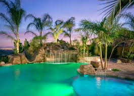 custom rockscape pools u0026 spas gallery western outdoor design and