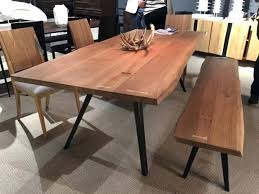 dining table silver maple dining table by live edge design raw