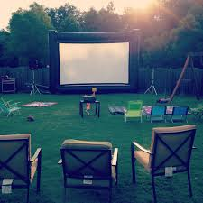 Backyard Projector Hire Backyard Movies 4 You Outdoor Movie Screens In Grayson Georgia