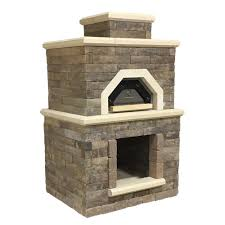 Outdoor Pizza Oven Oldcastle Avondale 54 5 In X 44 In X 94 5 In Sienna Concrete