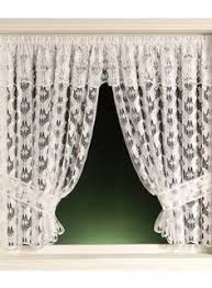 Victorian Kitchen Curtains by Vintage Victorian Chic Baroque French Country Net Floral Lace