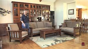 Furniture Stores Living Room Mission Sofa Mission Style Accent Chairs Amish Kitchen Cabinets