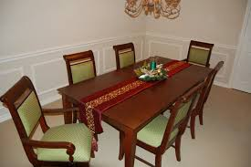 furniture how to refinish a dining room table with brown oval