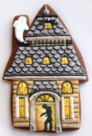 214 best 9 halloween gingerbread houses images on pinterest