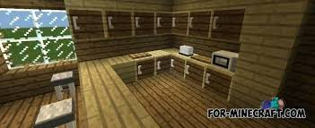 minecraft kitchen ideas how to a kitchen in minecraft pe how to a popcorn machine