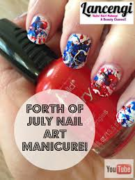 forth of july nail art manicure 4thofjuly forthofjuly nailart