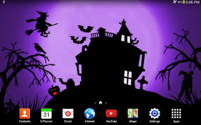 bright halloween background halloween live wallpaper android apps on google play