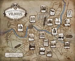 a map of a map of steunk vilnius by daywish on deviantart