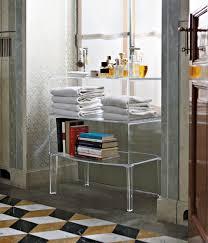 Lucite Bathtub Free Standing Acrylic Lucite Bathroom Furniture Cabinet Nova68 Com