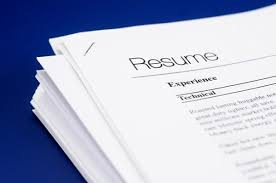 one page resume how should your resume be