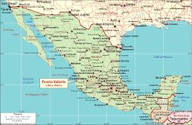 map of mexico cities road map and cities of mexico