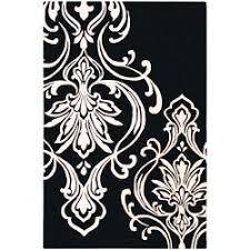 Black And White Rugs Rug Black And White Damask Rug Wuqiang Co