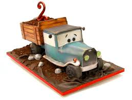 vintage dump truck birthday cake youtube