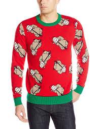 stevens men u0027s sloth bonanza ugly christmas sweater at amazon