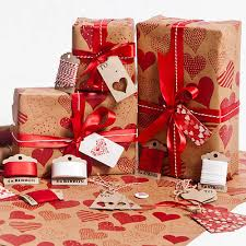 brown wrapping paper hearts wrapping paper by